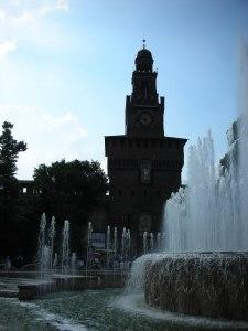 Le château Sforzesco